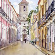 Calle Fuente Alhabia Art Print