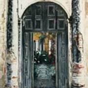 Calle Tapachula - 2 Doors Open Art Print
