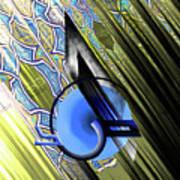Calligraphy 103 4 Art Print