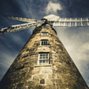Callington Mill In Oatlands Tasmania Art Print