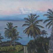 Calm In The Carribean Art Print