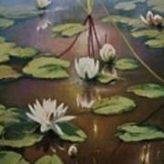 Calming Pond Art Print