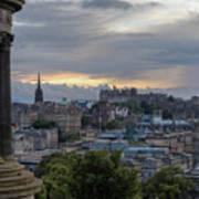 Calton Hill - Edinburgh Art Print