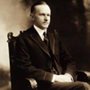 Calvin Coolidge Portrait Art Print