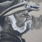 Calvin Cotton Art Print