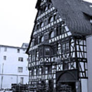 Calw A History Laden Town 01 Art Print