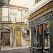 Calzados Victoria-leon Art Print by Tomas Castano