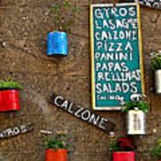 Calzone Art Print