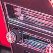 Camaro Controls Art Print