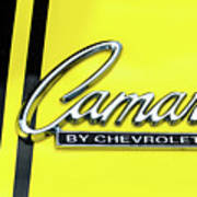 Camaro Art Print