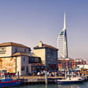 Camber Dock, Old Portsmouth Art Print
