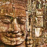 Cambodia Faces  Art Print