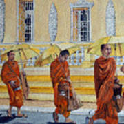 Cambodian Harmony Art Print
