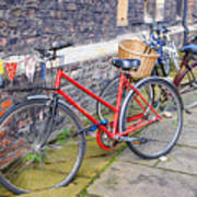 Cambridge Bikes 1 Art Print
