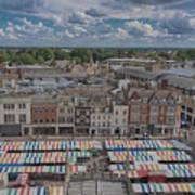 Cambridge Market Art Print