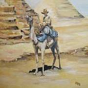 Camel Corp At Ease Art Print by Leonie Bell