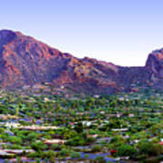 Camelback Mountain, Phoenix, Arizona Art Print
