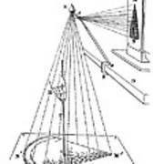 Camera Lucida For Microscopic Drawings Art Print