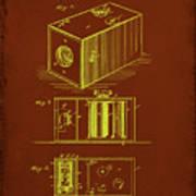 Camera Patent Drawing 1a Art Print