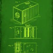 Camera Patent Drawing 1g Art Print