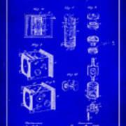 Camera Patent Drawing 2h Art Print