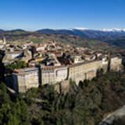 Camerino Italy - Aerial Image Art Print