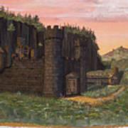 Camlochlin Castle Art Print by James Lyman