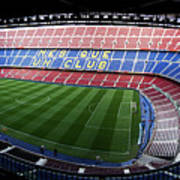 Camp Nou Art Print