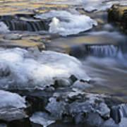 Campbell Waterfalls West Virginia Art Print