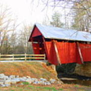Campbell's Covered Bridge Art Print