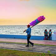 Campeche Colors Art Print