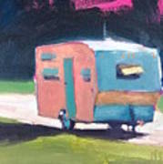 Camped Out Art Print