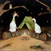 Campfire Ghost Stories Art Print