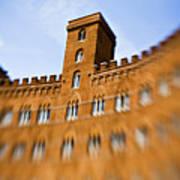 Campo Of Siena Tuscany Italy Art Print
