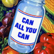 Can All You Can -- Ww2 Art Print