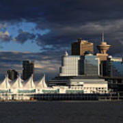 Canada Place Vancouver City Art Print