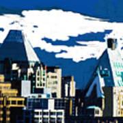 Canada Towers Art Print