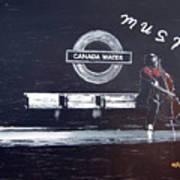 Canada Water Music Art Print