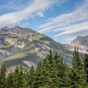 Canadian Rockies Near Kicking Horse Pass Art Print
