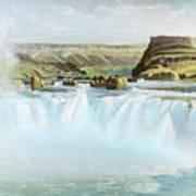 Canadian Water Fall Art Print
