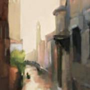 Canal Dorsoduro Venice Art Print