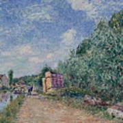 Canal Du Loing-chemin De Halage Art Print