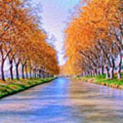 Canal Du Midi Art Print