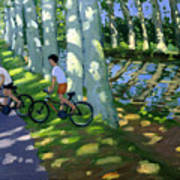 Canal Du Midi France Art Print