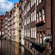 Canal Houses Art Print