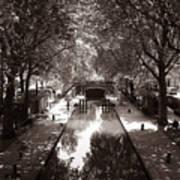 Canal Saint Martin 2 Art Print