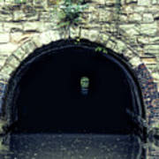 Canal Tunnel Art Print