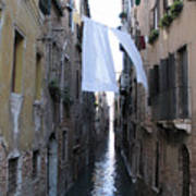 Canal. Venice Art Print