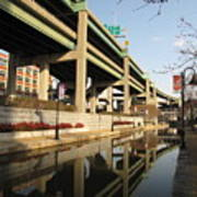 Richmond Canal Walk Through Shockoe Bottom Art Print