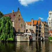 Canals Of Bruges Art Print